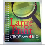 Ensight Skills Center Store: Large_Print_Crossword_Puzzle_Books