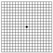 Amsler Grid testing helps determine if you may be suffering from macular degeneration.