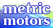 metric motors logo