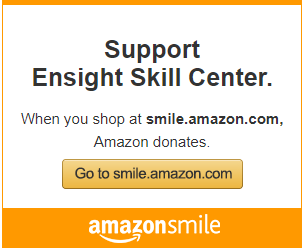 Shop at Amazon Smile and donate to Ensight Skills without paying a penny more!