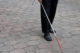orientation and mobility training with white cane