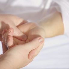 My aching neck:  Massage for people with vision impairments