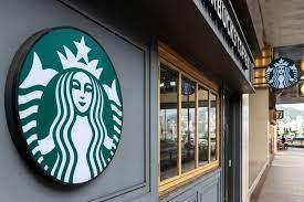 Starbucks coffeeshop building