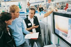 customer and clerk in store